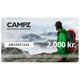 CAMPZ Gavekort 2000 kr.